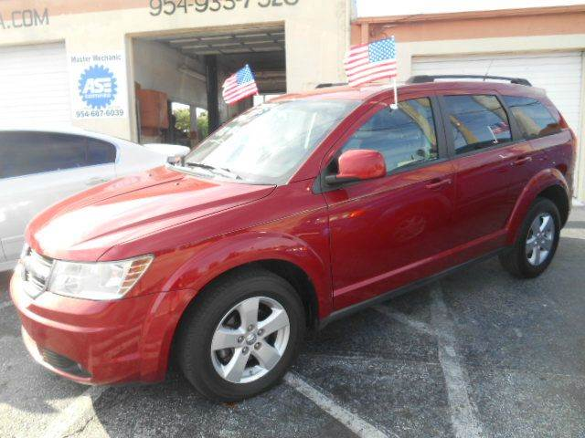 2010 DODGE JOURNEY CREW 4DR SUV red 2-stage unlocking doors abs - 4-wheel active head restraint