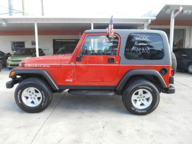 2005 JEEP WRANGLER RUBICON 4WD 2DR SUV orange axle ratio - 411 center console - front console w