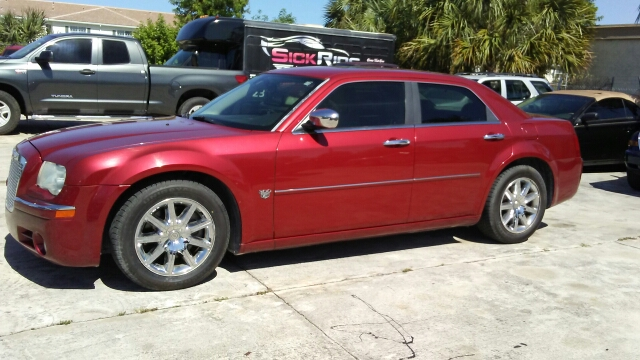2007 CHRYSLER 300 C 4DR SEDAN red 2-stage unlocking doors abs - 4-wheel adjustable pedals - pow