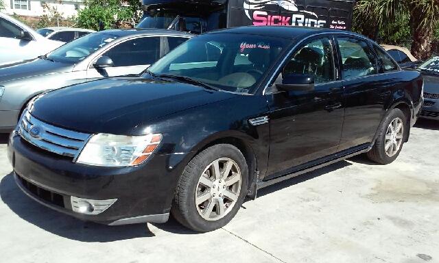 2008 FORD TAURUS SEL 4DR SEDAN black abs - 4-wheel airbag deactivation - occupant sensing passen