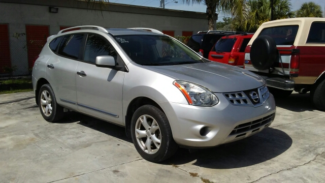 2011 NISSAN ROGUE S KROM 4DR CROSSOVER silvet 2-stage unlocking doors abs - 4-wheel active head
