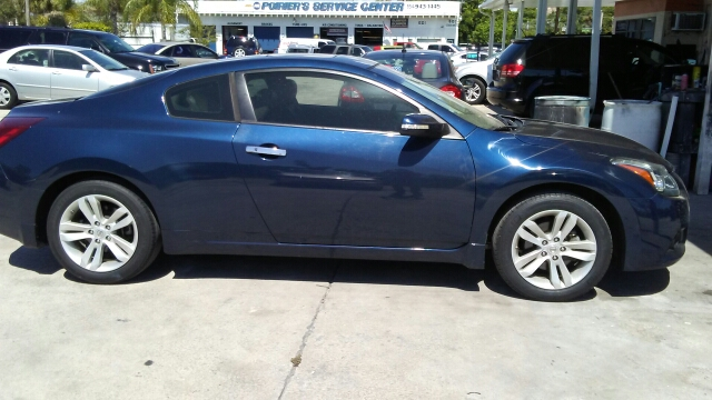 2012 NISSAN ALTIMA 25 S 2DR COUPE CVT blue 2-stage unlocking doors abs - 4-wheel active head r