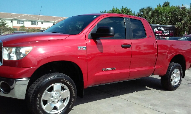 2011 TOYOTA TUNDRA GRADE 4X2 4DR DOUBLE CAB PICKUP red abs - 4-wheel airbag deactivation - passe