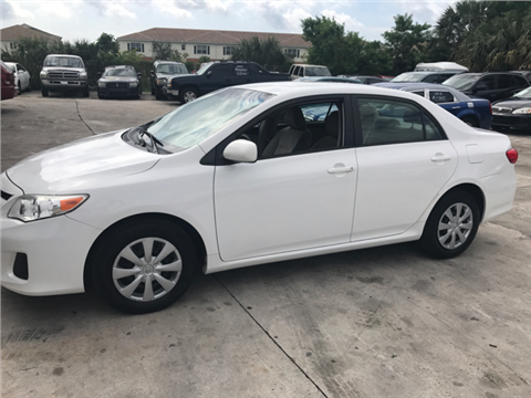 2011 Toyota Corolla for sale in Pompano Beach, FL