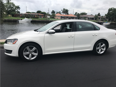 2012 Volkswagen Passat for sale in Pompano Beach, FL