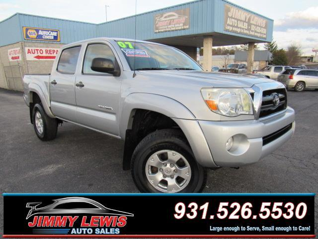 2007 Toyota Tacoma V6 4dr Double Cab 4WD 5.0 ft. SB (4L 5A) - Cookeville TN