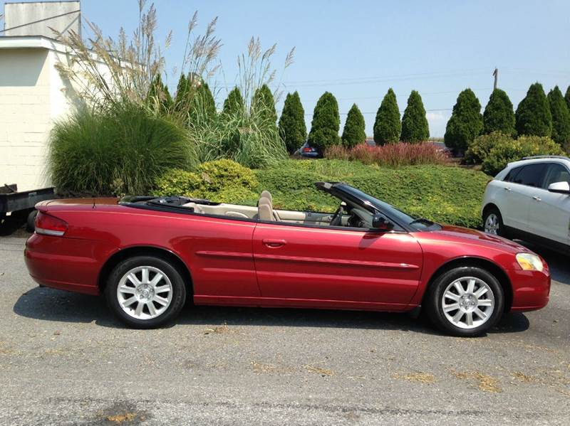 2005 chrysler sebring gtc 2dr convertible in atglen pa suburban auto sales. Black Bedroom Furniture Sets. Home Design Ideas