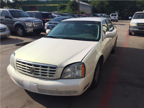 2004 Cadillac DeVille for sale in Irving, TX