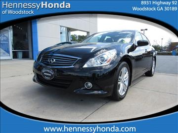 2013 Infiniti G37 Sedan for sale in Woodstock, GA