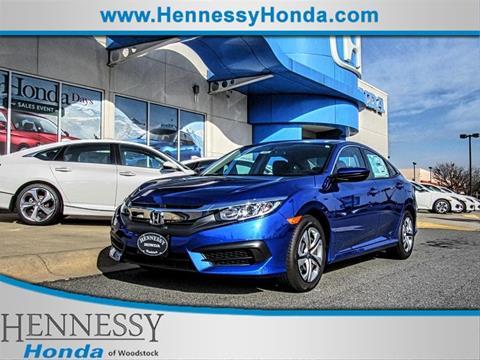 2017 Honda Civic for sale in Woodstock, GA