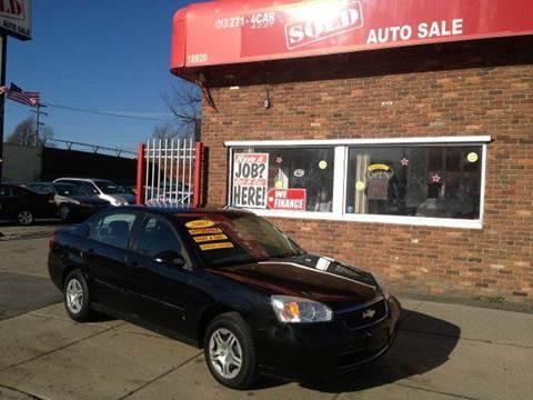2007 Chevrolet Malibu for sale in Detroit, MI