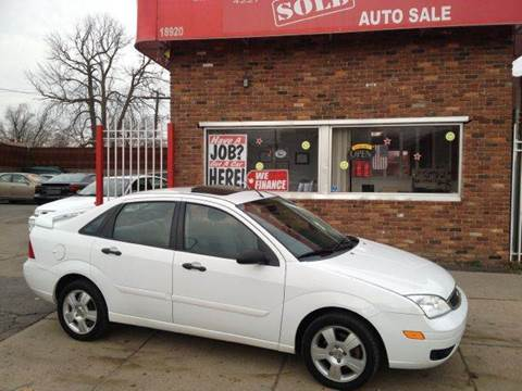 2007 Ford Focus for sale in Detroit, MI