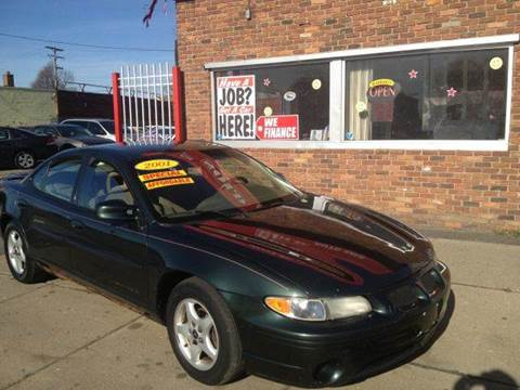2001 Pontiac Grand Prix for sale in Detroit, MI