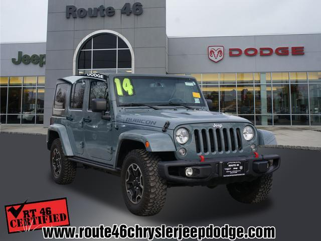 used 2014 jeep wrangler unlimited rubicon 4x4 4dr in little falls nj at route 46 chrysler jeep. Black Bedroom Furniture Sets. Home Design Ideas