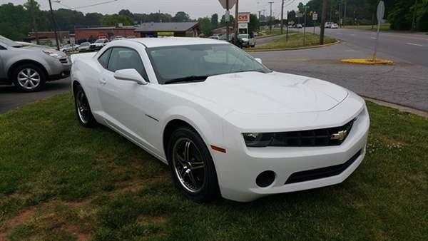 2013 chevrolet camaro ls 2dr coupe w 2ls in conover. Black Bedroom Furniture Sets. Home Design Ideas
