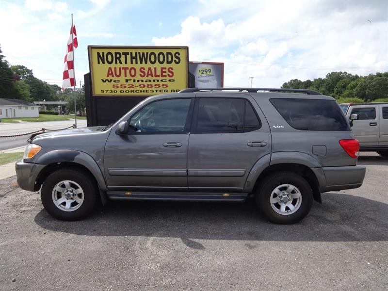 2006 toyota sequoia sr5 4dr suv north charleston sc