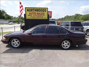 Northwoods Auto Sales >> 1995 Chevrolet Impala For Sale - Carsforsale.com