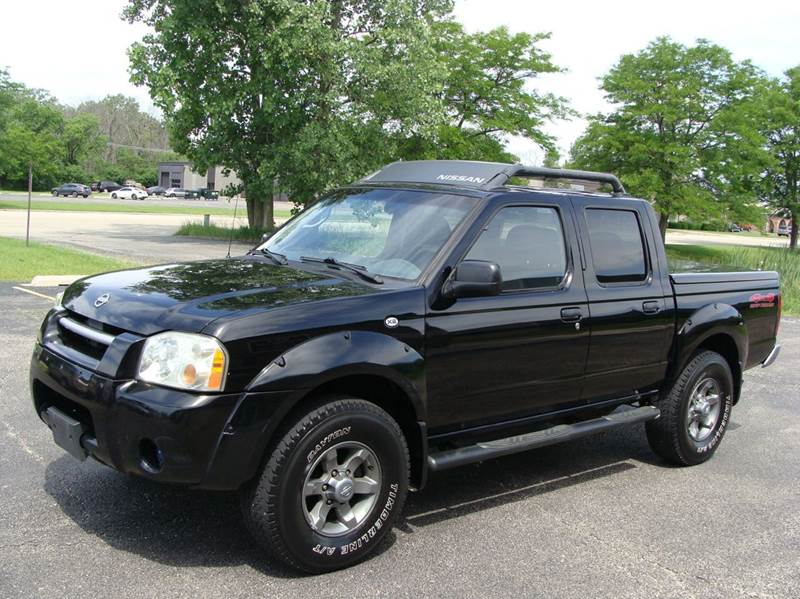 2003 nissan frontier 4dr crew cab xe v6 4wd sb in. Black Bedroom Furniture Sets. Home Design Ideas