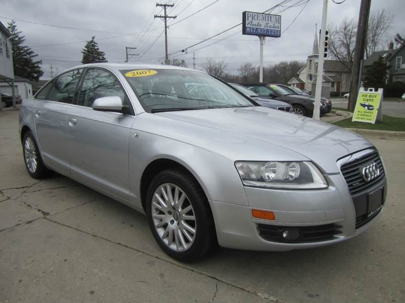 2007 audi a6 awd 3 2 quattro 4dr sedan in mundelein il. Black Bedroom Furniture Sets. Home Design Ideas