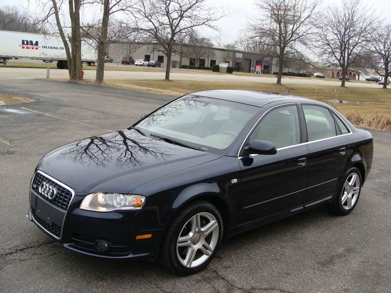 2008 audi a4 awd 2 0t special ed quattro 4dr sedan 2l i4 6a in mundelein il. Black Bedroom Furniture Sets. Home Design Ideas