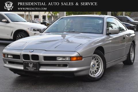 1992 BMW 8 Series for sale in Delray Beach, FL