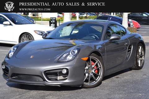 2015 Porsche Cayman for sale in Delray Beach, FL