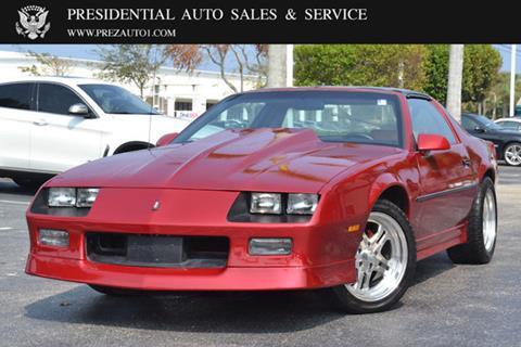 1985 Chevrolet Camaro for sale in Delray Beach, FL