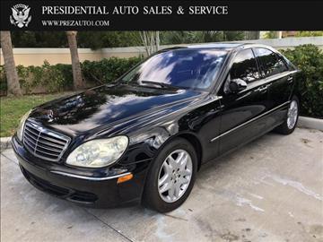 2006 Mercedes-Benz S-Class for sale in Delray Beach, FL