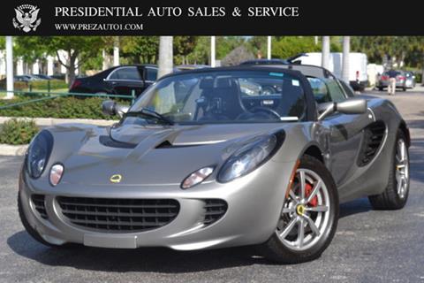 2005 Lotus Elise for sale in Delray Beach, FL
