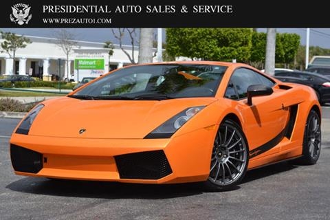 2008 Lamborghini Gallardo for sale in Delray Beach, FL