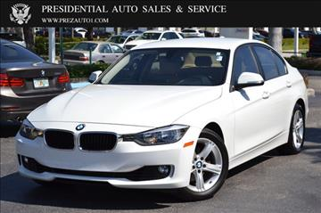 2013 BMW 3 Series for sale in Delray Beach, FL