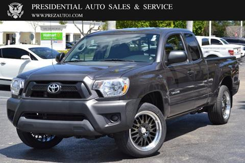 2014 Toyota Tacoma for sale in Delray Beach, FL