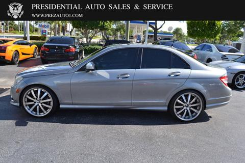 2009 Mercedes-Benz C-Class for sale in Delray Beach, FL