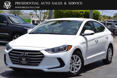 2017 Hyundai Elantra for sale in Delray Beach, FL