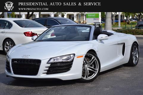 2012 Audi R8 for sale in Delray Beach, FL