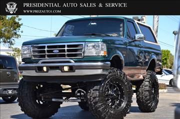 1996 Ford Bronco For Sale South Carolina Carsforsale Com