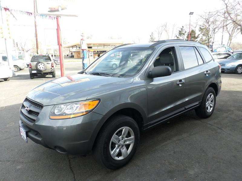 2009 hyundai santa fe gls awd 4dr suv 4a in wheat ridge co. Black Bedroom Furniture Sets. Home Design Ideas
