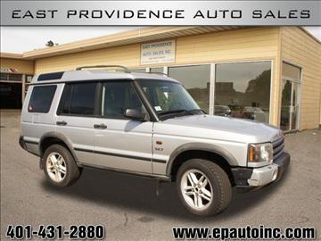 2003 Land Rover Discovery for sale in East Providence, RI