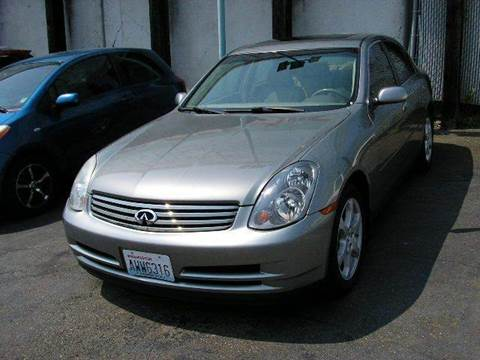 2004 Infiniti G35 for sale in Seattle, WA