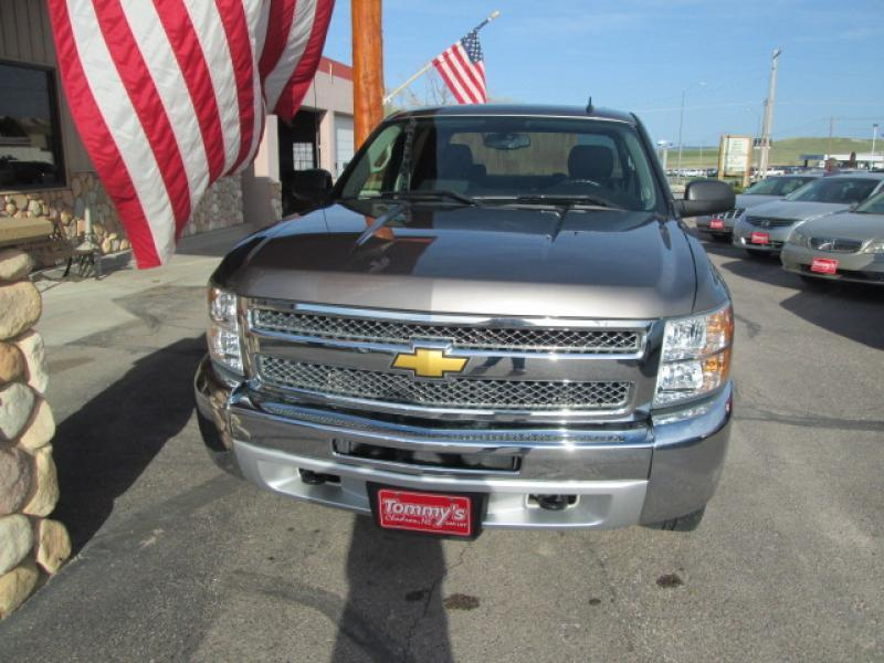 2012 Chevrolet Silverado 1500 4x4 LT 4dr Crew Cab 5.8 ft. SB - Chadron NE