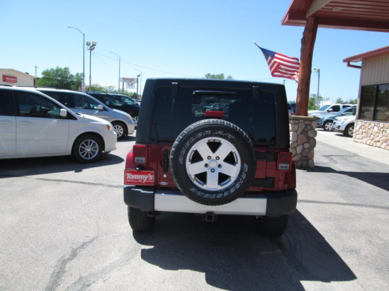 2012 Jeep Wrangler Unlimited 4x4 Sahara 4dr SUV - Chadron NE