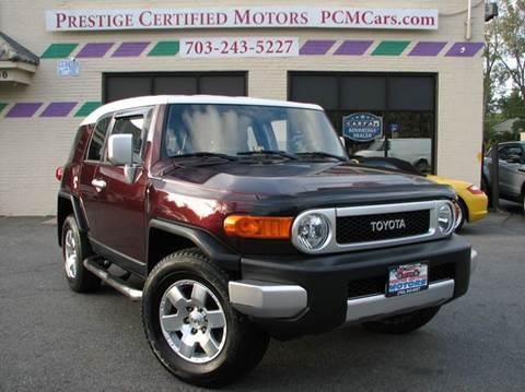2007 Toyota FJ Cruiser for sale in Falls Church, VA