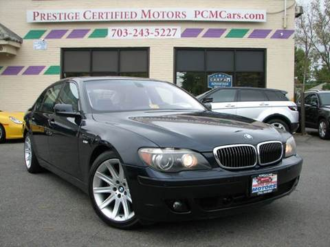 2006 BMW 7 Series for sale in Falls Church, VA