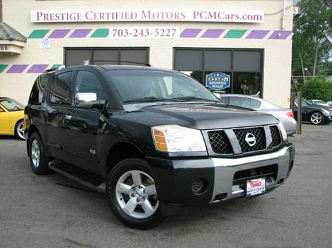 2006 Nissan Armada for sale in Falls Church, VA