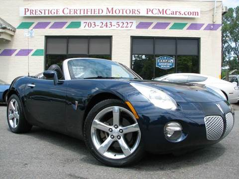 2006 Pontiac Solstice for sale in Falls Church, VA