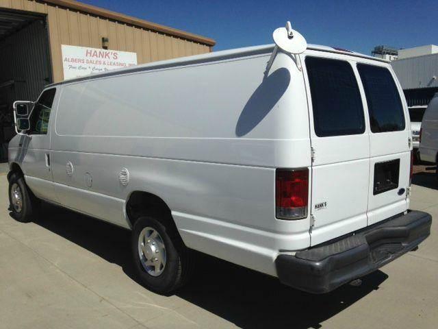 2007 Cargo Van EXTENDED Ford E350 St#5498
