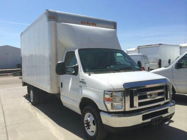2009 Cube Van Box Truck Ford w TOMMY Lift Gate Stk#549