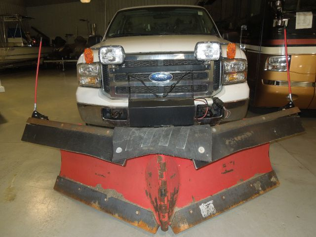 2005 Ford Snowplow BOSS Quick Tach XLT Super Duty-LIKE NEW Truck & Plow Stk#5287