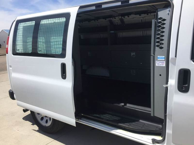 2014 Chevrolet ALL WHEEL DRIVE Cargo Van Of Lease!  LIKE NEW! Factory Warranty! - Bismarck ND