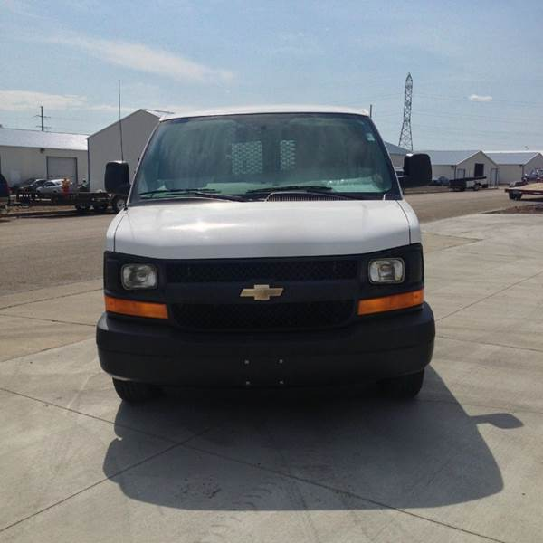 2013 Cargo Van ALL WHEEL DRIVE Chevy Contract